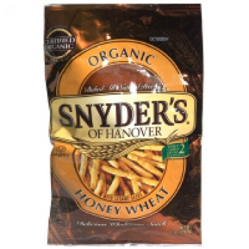 Snyder's of Hanover Pretzels Honey Wheat Organic
