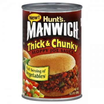 Hunt's Manwich Sloppy Joe Sauce Thick & Chunky
