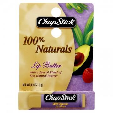 ChapStick Lip Balm Lip Butter 100% Natural