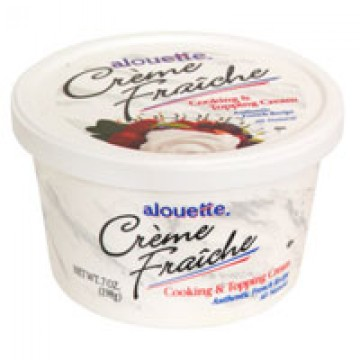 Alouette Creme Fraiche Cooking & Topping Cream Refrigerated