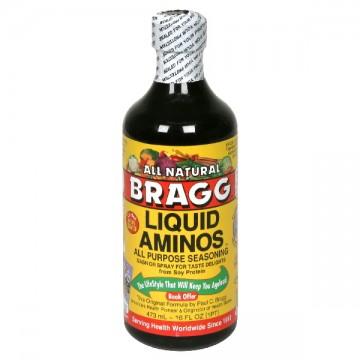 Bragg Liquid Aminos All Purpose Seasoning Gluten Free