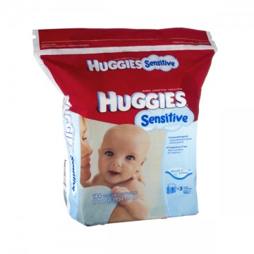 Huggies Gentle Care Sensitive Baby Wipes Fragrance Free Refill