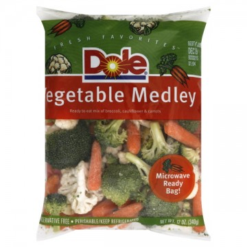 Vegetable Medley Broccoli, Cauliflower & Carrots Dole
