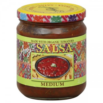 Amy's Salsa Medium Made with Organic Tomatoes