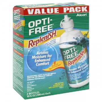 Alcon Opti-Free RepleniSH Multi-Purpose Disinfecting Solution - 2 pk