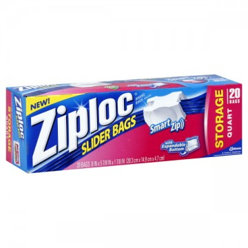 6 1/2 x 5 7/8 in. The trusted Ziploc seal keeps your food fresh and home organized. Ziploc Sandwich bags are perfect for storing items in the lunchbox, around the house or on the go. Not recommended for use in microwave or for storage of liquids. Made in U.S.A.