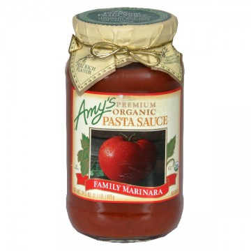 Amy's Premium Pasta Sauce Family Marinara Organic