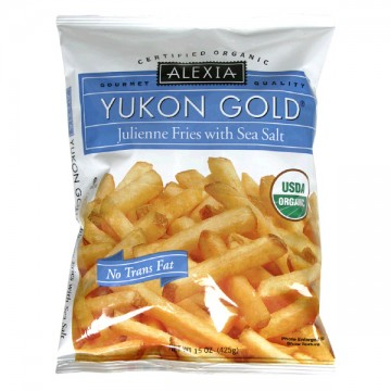 Alexia Fries Yukon Gold Julienne with Sea Salt All Natural