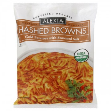 Alexia Hashed Browns Gold Potatoes with Seasoned Salt Organic