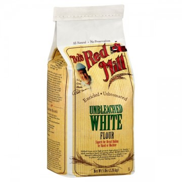 Bob 39 s red mill flour white unbleached enriched unbromated for Anrichte flur