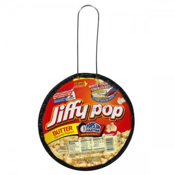 Jiffy Pop Stove Top Popcorn Butter