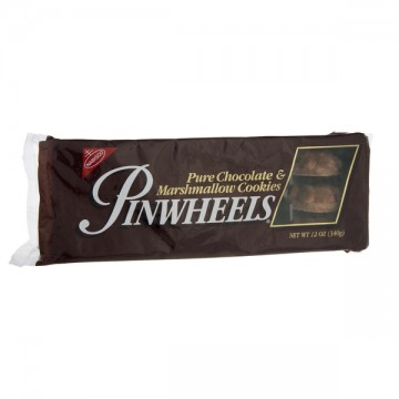 Nabisco Pinwheel Cookies Chocolate Covered Marshmallow