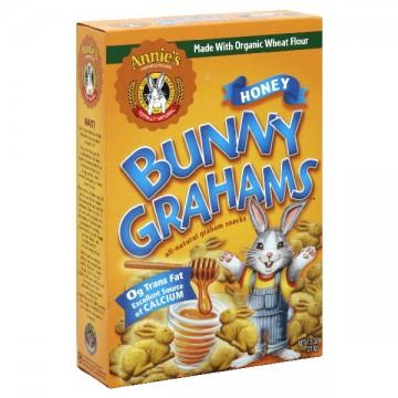 Annie's Homegrown Bunny Grahams Honey All Natural