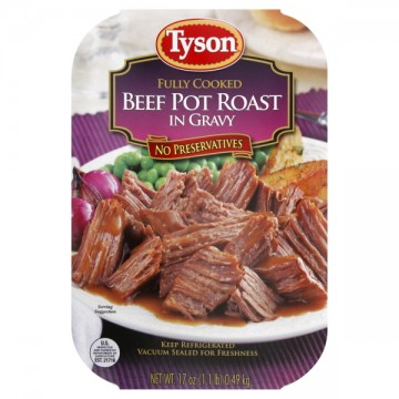 Tyson Beef Pot Roast in Gravy Fully Cooked