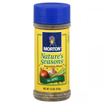 Morton Nature S Seasons  Less Sodium