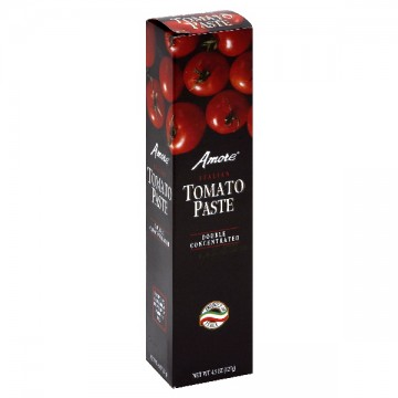 Amore Italian Tomato Paste Double Concentrated Tube