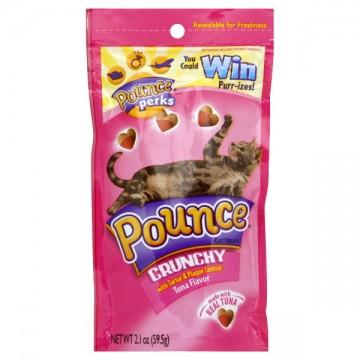 Pounce Tartar & Plaque Control Cat Treats Tuna Flavor