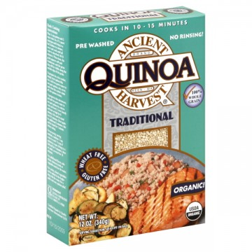 Ancient Harvest Quinoa Traditional 100% Whole Grain Organic