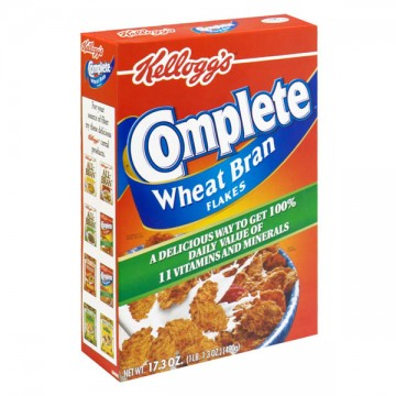 Kellogg's All-Bran Complete Cereal Wheat Bran Flakes