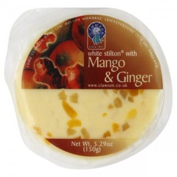 Clawson Cheese White Stilton with Mango & Ginger