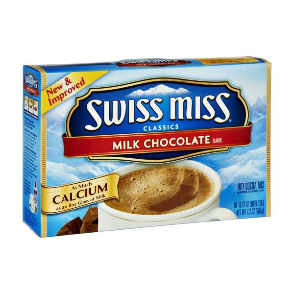 Swiss Miss Hot Chocolate Milk Or Water