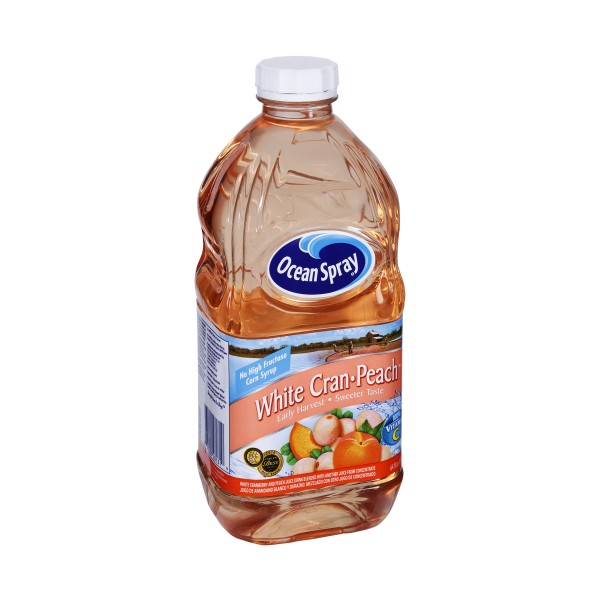 Ocean Spray White Cranberry Peach Juice Drink