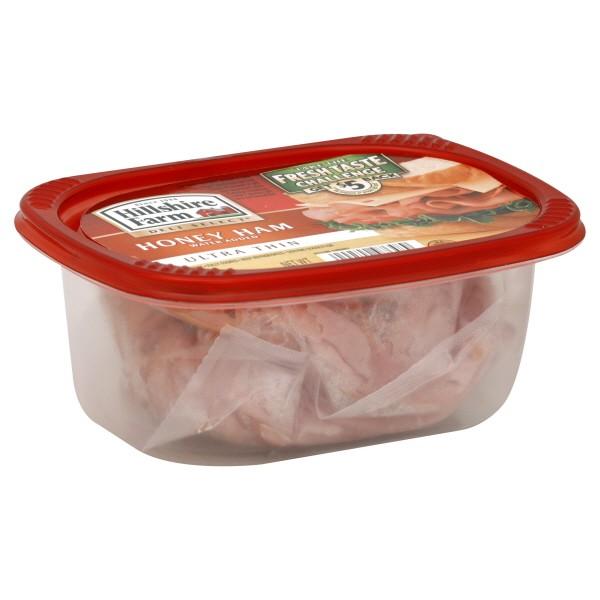 Hillshire Farm Deli Select Ham Honey 97% Fat Free Ultra Thin Sliced