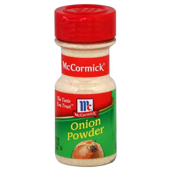 Onion powder to onion