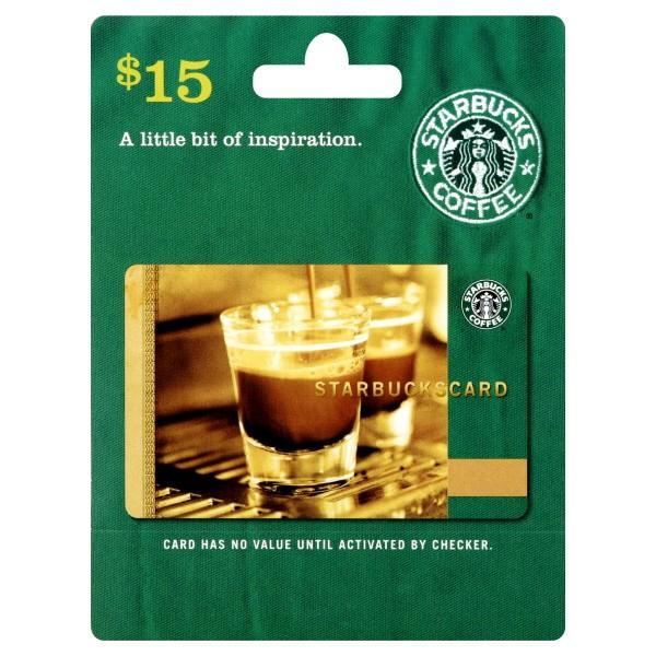 Starbucks gift card 15 starbucks gift card negle Choice Image