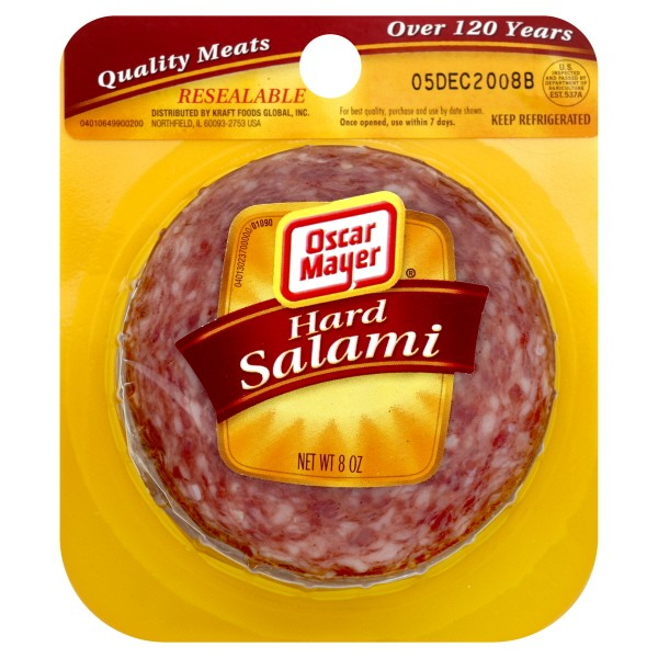 377108 Hard Salami in addition What Is A Hoagie also Info Oscar Mayer moreover Packaged Deli Salami Cured Meats together with Keto Italian Sub Lettuce Wrap Recipe. on oscar mayer salami