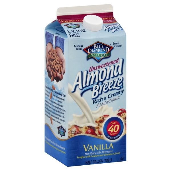 Blue Diamond Almond Flavors