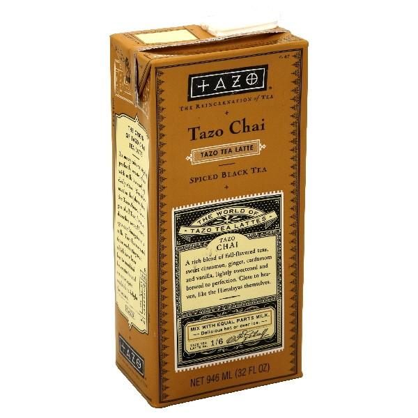 Tazo Chai Latte Spiced Black Tea