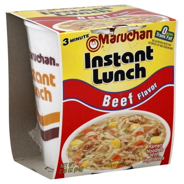 Maruchan Instant Lunch Ramen Noodles Beef