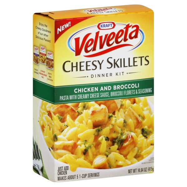 Velveeta Shells & Cheese 12 oz. or Cheesy Skillets oz., 2/$4-$1/2 Kraft Mac & Cheese Deluxe or Homestyle or Velveeta Shells & Cheese or Skillet Cheeseburger Mac (Walgreens February Coupon Book, expires 2/23/13) –$1/2 Velveeta Cheesy Skillets or Casserole Dinner Kits –$1/2 Velveeta Shells & Cheese Dinner = as low as $1 each after.
