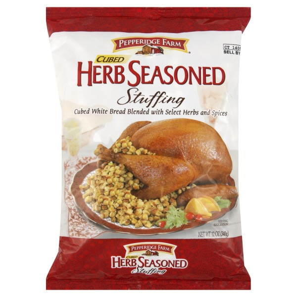 Pepperidge Farm Stuffing Herb Seasoned Cubed