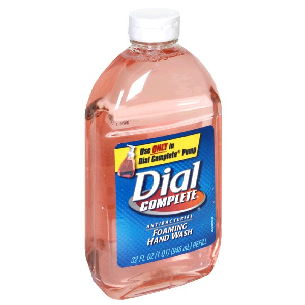 Poison Control Utah >> Dial Complete Foaming Hand Wash Antibacterial Refill