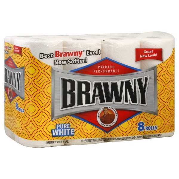 brawny paper towel research Bounty is an american paper towel product manufactured by procter & gamble (p&g) in the united statesit was introduced in 1965.