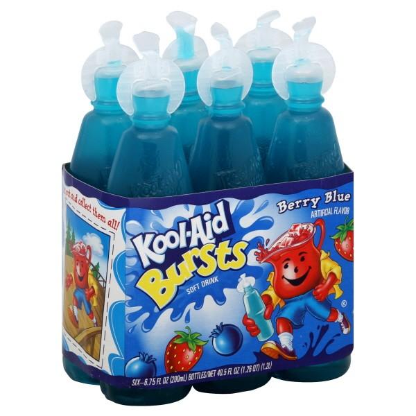 Blue Kool Aid uk Kool-aid Bursts Berry Blue 6