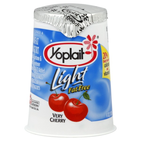 Yoplait Light Yogurt Cherry Fat Free