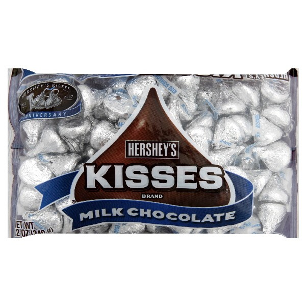 How many Hershey's Kisses are in a bag?