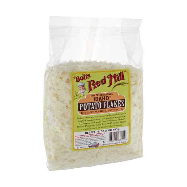 bob 39 s red mill idaho potato flakes instant mashed potatoes all natural. Black Bedroom Furniture Sets. Home Design Ideas