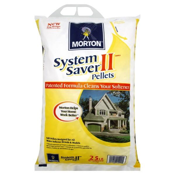 Morton System Saver II Salt Pellets for Water Softeners