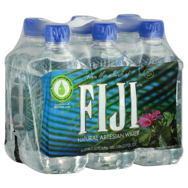 Fiji Natural Artesian Water 16 9 Fl Oz Pack Of 24 Bottles: Fiji Artesian Water Natural