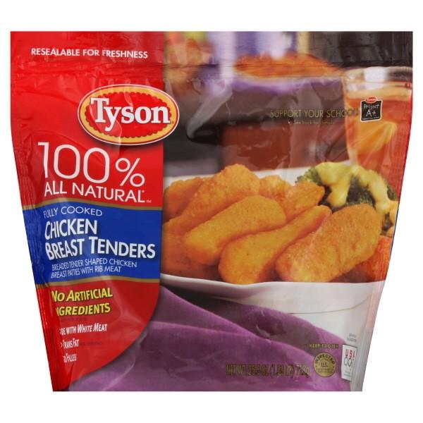 Tyson Chicken Breast Tenders Breaded