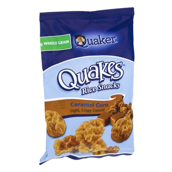 Quaker Quakes Rice Snacks Caramel Corn