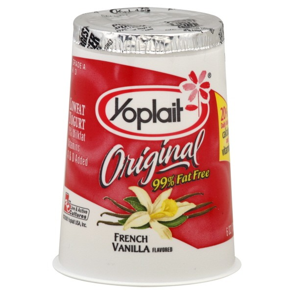 Yoplait Original Yogurt French Vanilla 99% Fat Free
