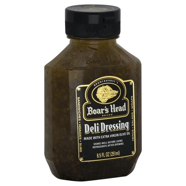 Boar S Head Deli Dressing Made With Extra Virgin Olive Oil