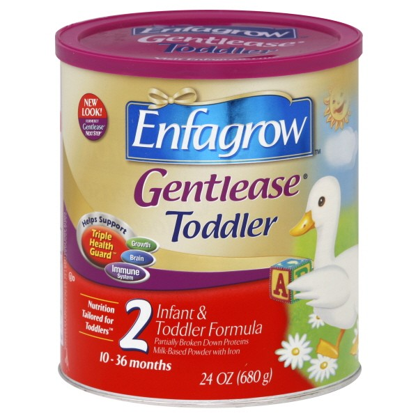 Enfamil Enfagrow Gentlease 2 Infant & Toddler Formula with ...