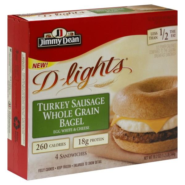 Jimmy Dean D-lights Bagel Sandwich