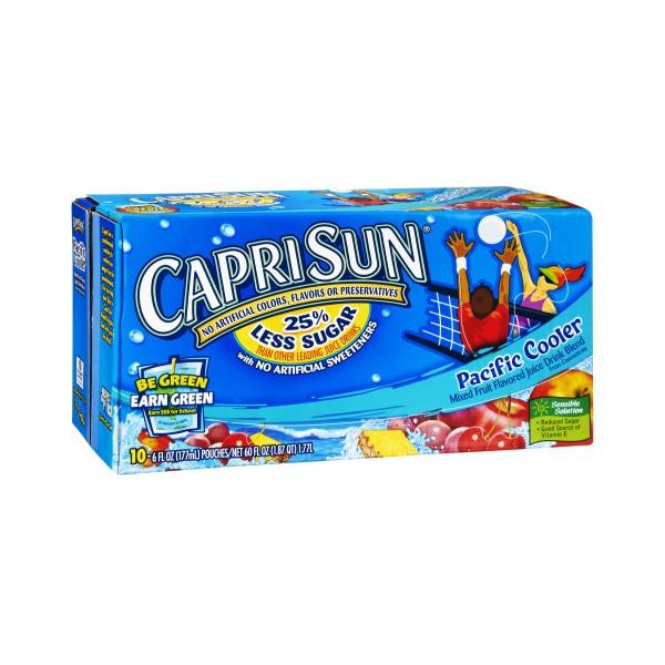 Capri Sun Pacific Cooler Juice Drink - 10 pkNutrition Facts